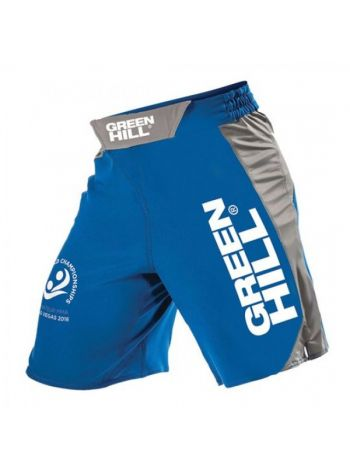 Шорты Green Hill MMA SHORT IMMAF APPROVED синие