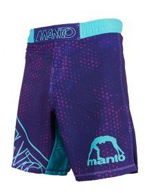 Шорты MANTO DOTS фиолетовые
