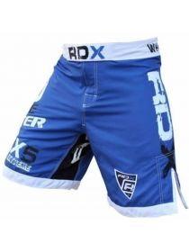 Шорты RDX Bicolor Fighting MMA синие