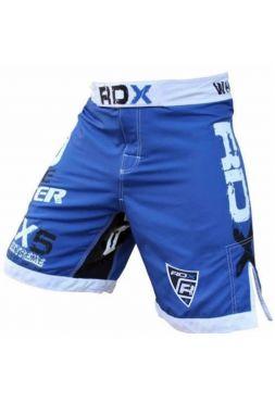 Шорты RDX Bicolor Fighting MMA синие