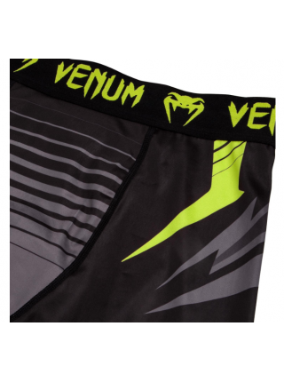 Компрессионные шорты ММА VENUM SHARP 3.0 черно-серые