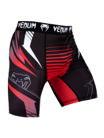 Компрессионные шорты ММА VENUM SHARP 3.0 черно-красные
