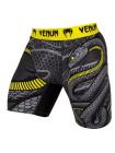 Компрессионные шорты ММА VENUM SNAKER черно-желтые