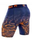 Шорты компрессионные VENUM TROPICAL сине-оранжевые