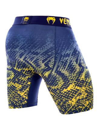 Шорты компрессионные VENUM TROPICAL сине-желтые