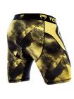 Компрессионные шорты ММА VENUM TECHNICAL черно-желтые