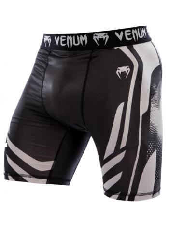 Компрессионные шорты ММА VENUM TECHNICAL черно-серые