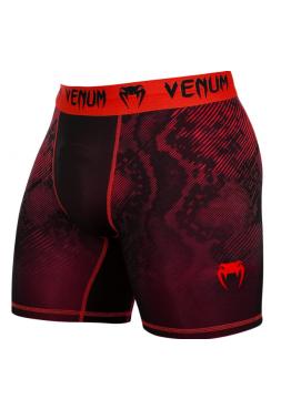 Компрессионные шорты ММА VENUM FUSION черно-красные
