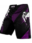 Шорты ММА VENUM RAPID черно-фиолетовые