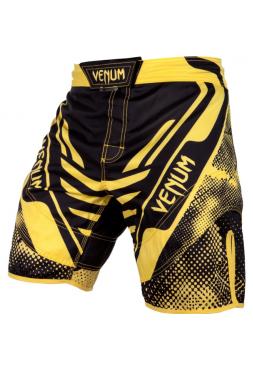 Шорты ММА VENUM TECHNICAL черно-желтые