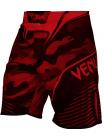 Шорты ММА VENUM CAMO HERO черно-красные
