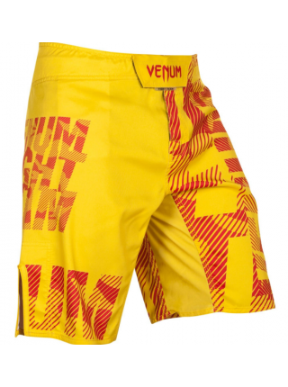 Шорты для смешанных единоборств VENUM SPEED CAMO URBAN желтые