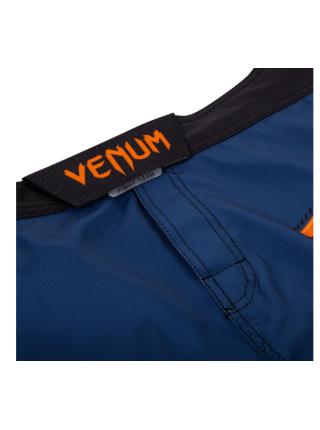Шорты для смешанных единоборств VENUM TRAIN HARD HIT синие