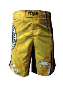 Шорты ММА желтые Venum Carlos Condit