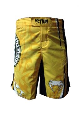 Шорты ММА желтые Venum Carlos Condit UFC