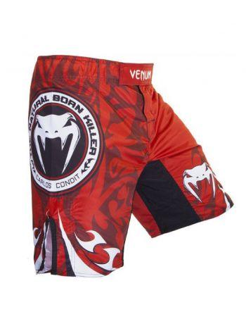 Шорты ММА Venum Carlos Condit Championship Edition UFC 154 красные
