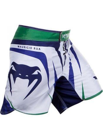 Шорты для смешанных единоборств Venum Shogun UFC Edition бело-синие