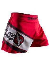 Шорты для кикбоксинга Hayabusa Glory Kickboxing красные