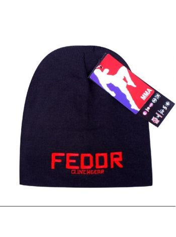 Шапка черно-красная Clinch Gear Fedor