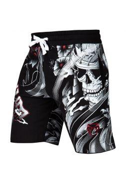 Спортивные шорты VENUM SAMURAI SKULL TRAINING SHORTS черные