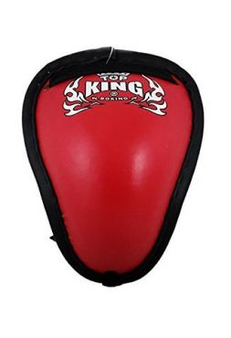 Защита паха Top King (red) на шнурке