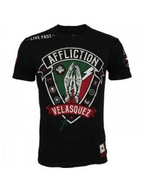 Футболка Affliction Cain Velasquez Devotion черная