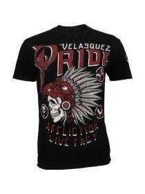 Футболка черная Affliction Cain Velasquez Pride