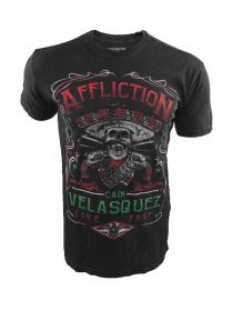 Футболка черная Affliction Youth Cain Velasquez Caudillo