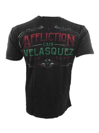 Футболка черная Affliction Youth Cain Velasquez Caudillo