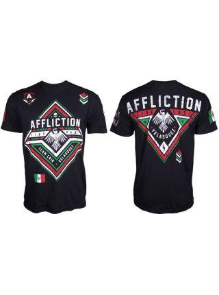Футболка черная Affliction Cain Velasquez Force