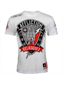 Футболка белая Affliction Youth Cain Velasquez Devotion