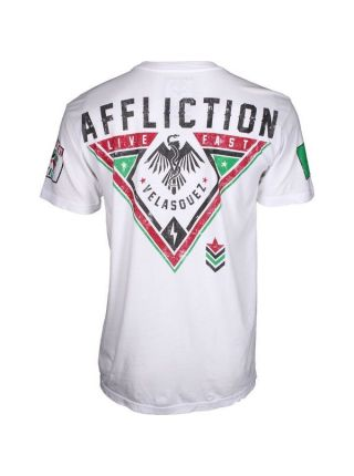 Футболка белая Affliction Cain Velasquez Force