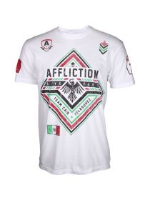 Футболка белая Affliction Cain Velasquez Force