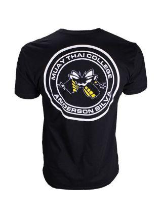 Футболка черная Muay Thai College Anderson Silva