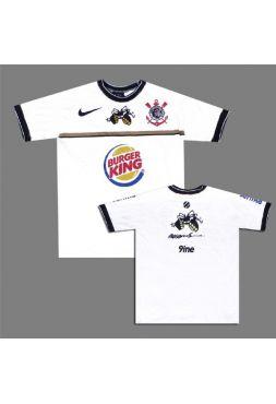 Футболка белая Muay Thai College Anderson Silva Burger King