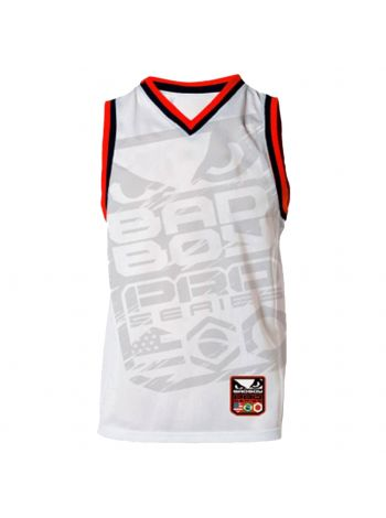 Майка Bad Boy MMA Jersey Tank белая