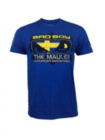Футболка Bad Boy Gustafsson UFC 157 синяя