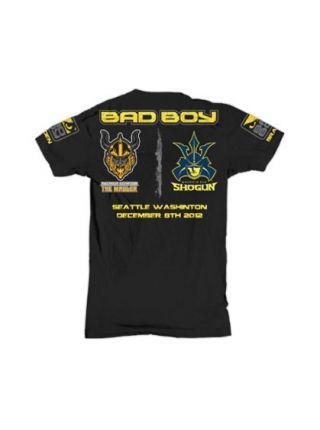 Футболка Bad Boy Shogun vs. Gustafsson черная