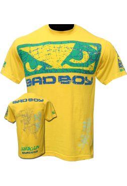 Футболка Bad Boy Shogun Rua 113 желтая