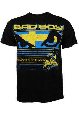 Футболка Bad Boy Alexander Gustafsson с флагом