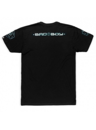 Футболка BAD BOY GLOBAL WALKOUT T-SHIRT черно-зеленая