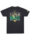 Футболка BAD BOY EQUIPE BRASIL черная