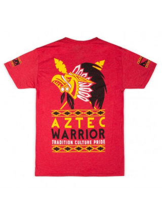 Футболка BAD BOY AZTEC WARRIOR TEE красная