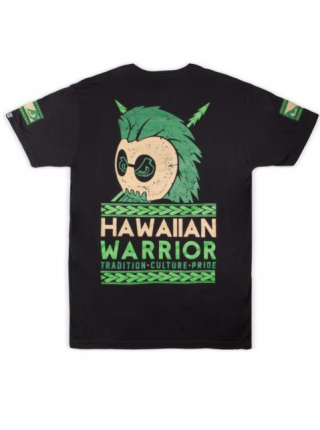 Футболка BAD BOY HAWAIIAN WARRIOR TEE черная