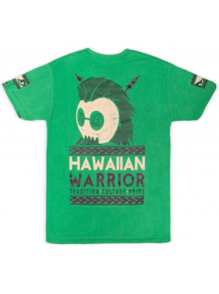 Футболка BAD BOY HAWAIIAN WARRIOR TEE зеленая