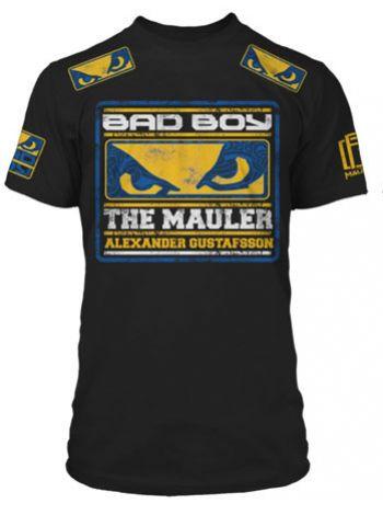 Футболка Bad Boy Alexander Gustafsson черная