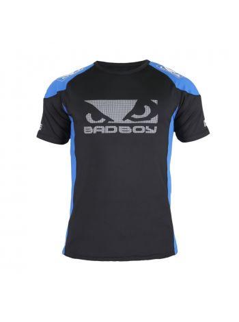 Футболка BAD BOY PERFORMANCE WALKOUT 2.0 черно-синяя