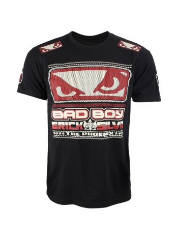 Футболка черная Bad Boy Erick Silva UFC 40