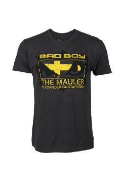 Футболка черная Bad Boy Alexander Gustafsson UFC 165