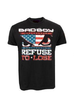 Футболка Bad Boy черная из хлопка UFC 168